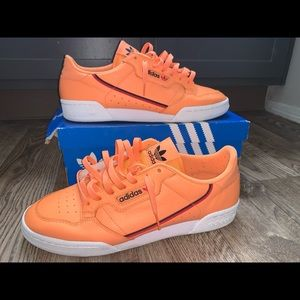Orange/white/black/red Continental 80 Adidas